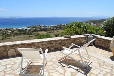 Great View House Soros Beach in Antiparos island! - House