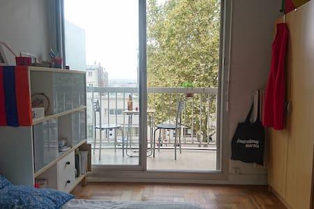 Joli studio vue sur Paris - Flat