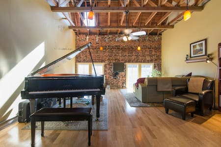 Spacious Art/Music Studio Loft - Oakland - Loft