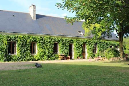 Gîte 6 p avec piscine proche Saumur - Haus