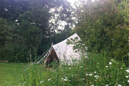 Glamping Bell, New Farm Holidays - Lincolnshire - Tent