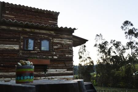 Amazing fully equiped cabin for 2+ - Guasca - Cabin