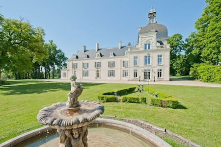 Chateau de Milly luxury B&B accommodation - Razines - Zamek