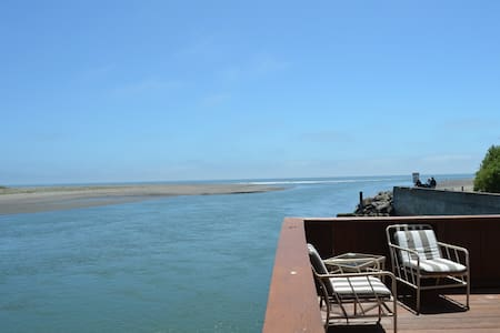 Best View in Bolinas!  Steps away from the beach - Σπίτι