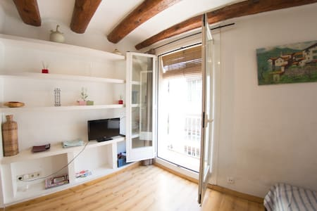COSY FLAT DOWNTOWN, NEXT TO RAMBLAS - Barcelona - Apartment