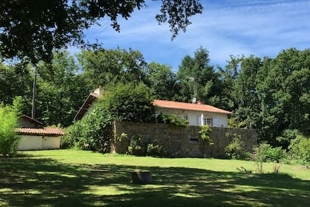 Familyhouse, relax, enjoy nature at the coutryside - Saint-Laurent-sur-Gorre - Hus