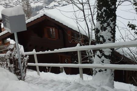 Chaleureux chalet de montagne - Troistorrents - Huis