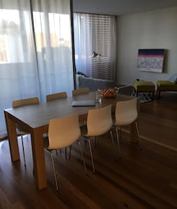 Sunny bedroom in modern apartment - Sydney  - Apartment