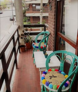 Depto. 1 ½ Ambiente, balcones con vista Al Mar - Mar del Plata - Appartement