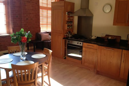 Mill Conversion, 2 bedroom, Modern, with parking - Leicester