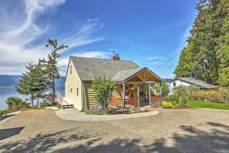 4BR Seabeck House w/Mountain Views - House
