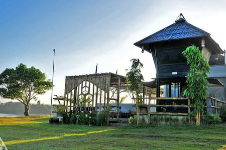 A Mountain Lake GLAMPING Experience near Manila!!! - Hut