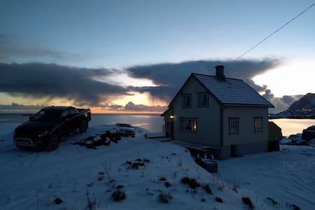 Koselig hus med fenomenal utsikt - Casa