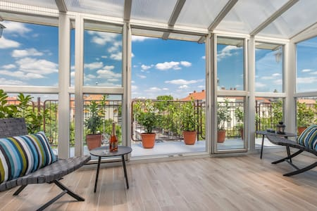 Terrace Apartments at City Park 2 - Budapest - Appartement
