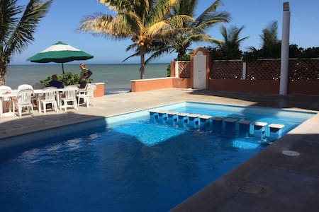 Beachfront apartment, amazing view - Progreso