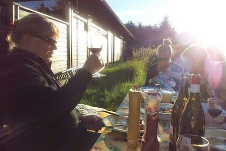 Hyggeligt norsk træsommerhus. Ål-hytte - Bindslev - Cabin