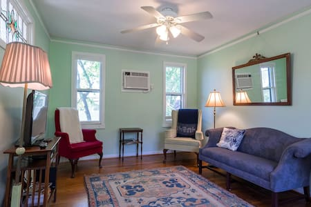 Historic Heights Garage Apartment - Houston - Appartement
