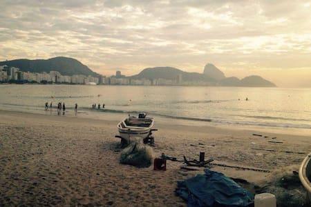 Apartamento Praia de Copacabana. - Rio de Janeiro - Apartment