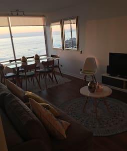 HERMOSA VISTA FRENTE AL MAR, COCHOA - Viña del Mar - Condominium