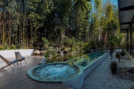 Gorgeous Loft & Roof Garden   Agua y Bamboo - Cuernavaca - Çatı Katı