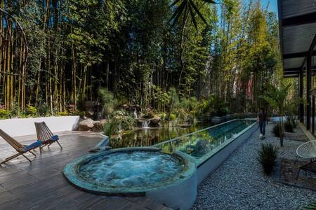 Gorgeous Loft & Roof Garden   Agua y Bamboo - Cuernavaca - Loteng Studio