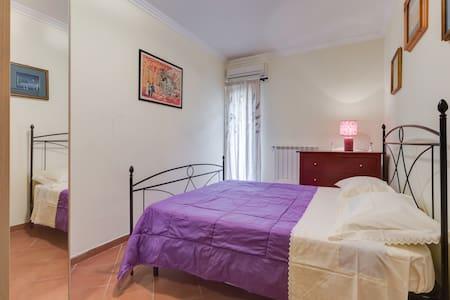 ACCOGLIENTE BILOCALE FUORI ROMA - Apartment