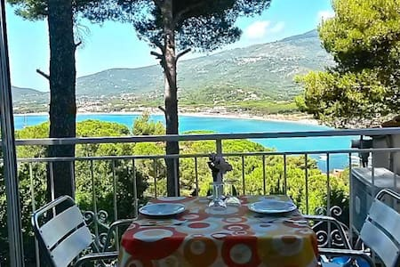 Appartamentini  a 150 mt dal mare - Marina di Campo - Rekkehus