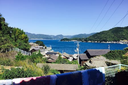 Remote areas of EHIME.Just sea and mountain.Family - Seiyo - Gästhus