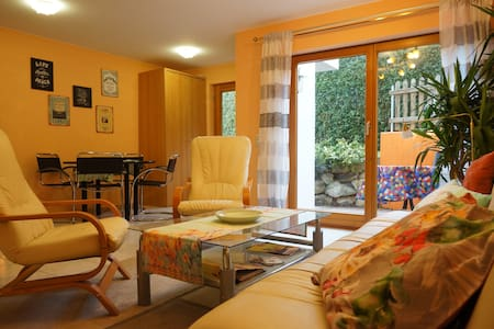 Modern 2bdr & garden, 400m to lake - Appartement
