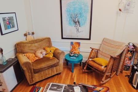 Eclectic music & museum sanctuary - San Francisco - Apartment