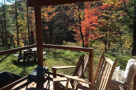 Cute and cozy log cabin - Prattsville