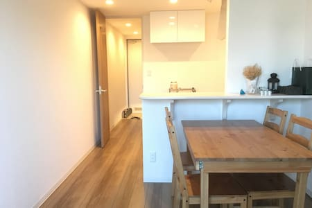 Newly built clean apartment in the heart of Tokyo - Kōtō-ku - Lejlighed
