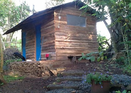 Second room in two room cabin. - San Rafael Abajo