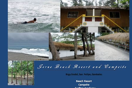 Jerus Beach Resort and Campsite Dorm Type Rooms - Studentrum