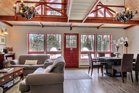 Cozy Swiss Cabin 1h Montreal - Bixley Lake - Wentworth - Alpehytte