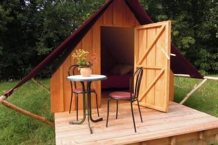 Ecolodge bois/toile terrasse - Cottage