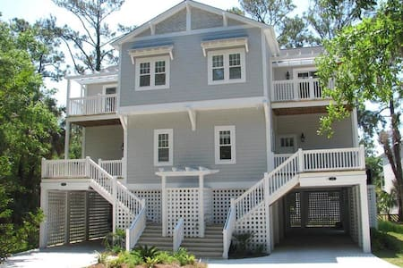 Beautiful 5 Bedroom 4 Bath Home - Edisto Island - 獨棟