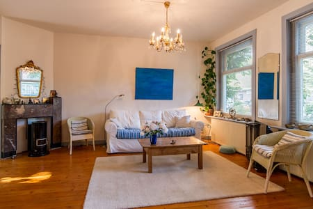 Cozy spacious apt. with garden at south area! - Amsterdam - Appartement