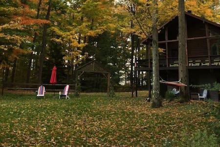 Comfy Cabin on Echo Pond, Sherman (Chautauqua) NY - Sherman - Kisház