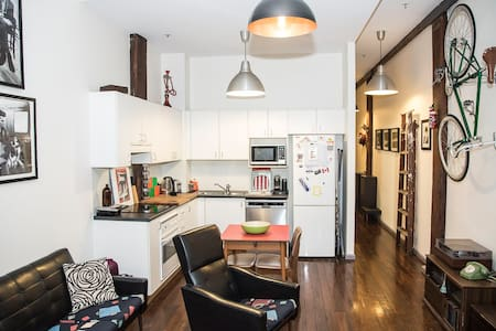 1 Bedroom high ceiling NY style apt in Pyrmont/CBD - Sídney - Apartamento