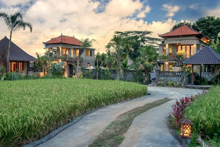 #7 NEW 1BR Cottage w/Ricefield view - Tegallalang - Flat