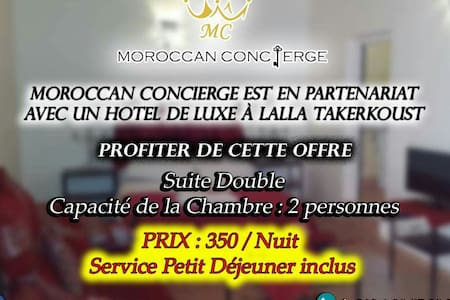 Offre exclusif 350 dh / nuit - Lalla Takerkoust - Bed & Breakfast
