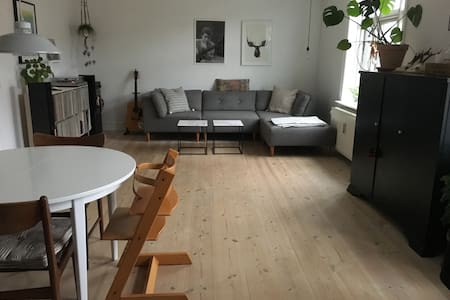 Big and spacious apartment on two levels - Copenhague