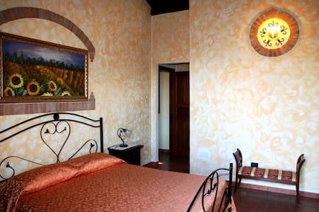 Camera Vista Isole Eolie; Relax con Piscina - Reitano - Bed & Breakfast