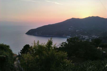 Monolocale in villetta collina-mare - Casa nella roccia