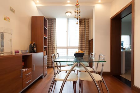 Neat cozy room in beautiful Pudong - Shanghái - Departamento