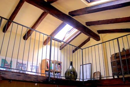 Deliziosa mansarda in centro - Lovely attic - Bologna - Wohnung
