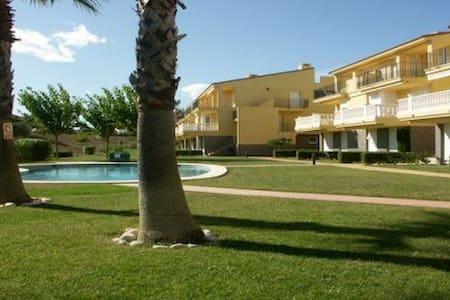 Acogedor apartamento en pleno campo de Golf - Sant Jordi - Apartemen
