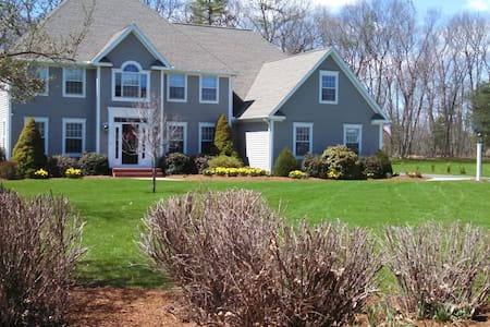 Upscale neighborhood in Glastonbury - Hus