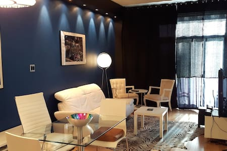 Stylish loft style Condo w Terrace - Montreal - Appartamento